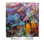 Quadra-04 Shower Curtain