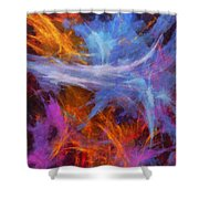 Quadra-06 Shower Curtain
