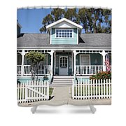 Quaint House Architecture - Benicia California - 5d18817 Shower Curtain