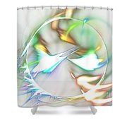 Quasars Shower Curtain