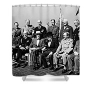 Quebec Conference, 1944 Shower Curtain