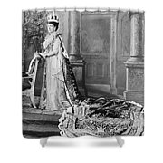 Queen Alexandra, 1902 Shower Curtain by Omikron
