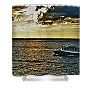Queen City Ferry Shower Curtain