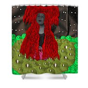 Queen Of The Huns Shower Curtain