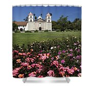 Queen Of The Missions Shower Curtain