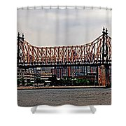 Queensboro Bridge Shower Curtain