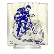 Quest For Speed Shower Curtain