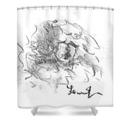 Question Of The Heart Shower Curtain
