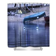 Quiet Canoes Shower Curtain