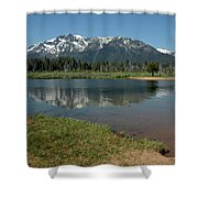 Quiet Reflections Shower Curtain