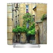 Quiet Street In Sarlat Shower Curtain