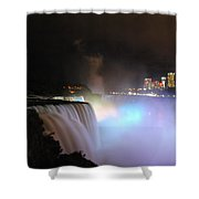 Quiet Thunder Nf Shower Curtain