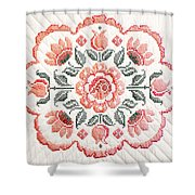 Quilted Centerpiece Shower Curtain