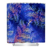 Quinic Acid Shower Curtain