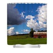 Quintessential Vermont Shower Curtain