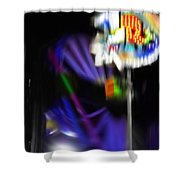R Eight Shower Curtain