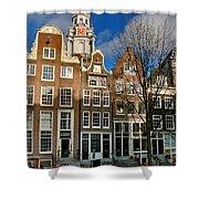 Raamgracht 19. Amsterdam Shower Curtain