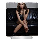Rachel3 Shower Curtain
