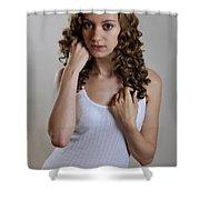 Rachel5 Shower Curtain