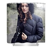 Rachel8 Shower Curtain