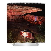 Radiator Racers - Cars Land - Disneyland Shower Curtain