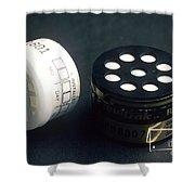 Radon Test Kit Shower Curtain