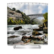 Raging Niagara          Shower Curtain