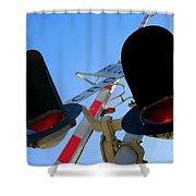 Rail Cro Shower Curtain