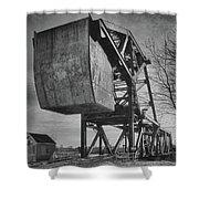 Railroad Bridge 10615b Shower Curtain