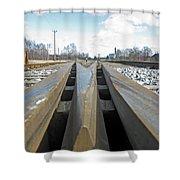 Railroad Series 04 Shower Curtain