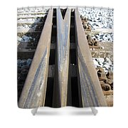Railroad Series 05 Shower Curtain