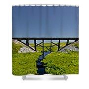 Railroad Trestle Shower Curtain