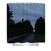 Rails Clear Shower Curtain