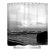 Rain And Storm Shower Curtain