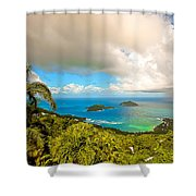 Rain In The Tropics Shower Curtain