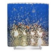 Rain On My Windshield Shower Curtain