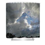 Rain Or Shine Shower Curtain