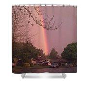 Rainbow 3 Shower Curtain