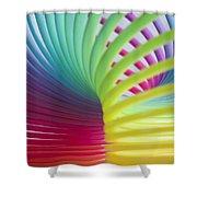 Rainbow 7 Shower Curtain
