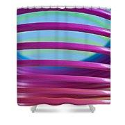 Rainbow 9 Shower Curtain