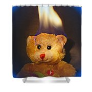 Rainbow Bear Shower Curtain