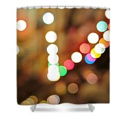 Rainbow Brights Shower Curtain
