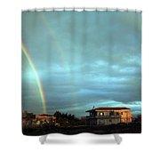 Rainbow Calabrese Shower Curtain