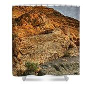 Rainbow Canyon 2 Death Valley Shower Curtain