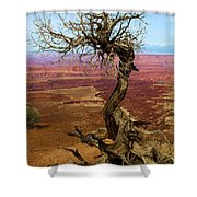 Rainbow Canyon Shower Curtain