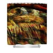 Rainbow Falls Shower Curtain by Jack Zulli