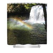 Rainbow Mist 2 Shower Curtain
