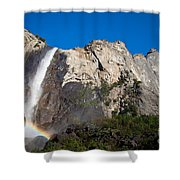 Rainbow On Bridalveil Fall Shower Curtain
