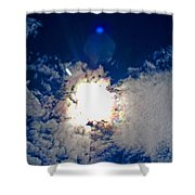 Rainbow Round The Sun II Shower Curtain