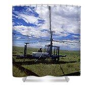 Rainfall Simulator Shower Curtain